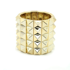 Armband m Nagler - Gullfarget