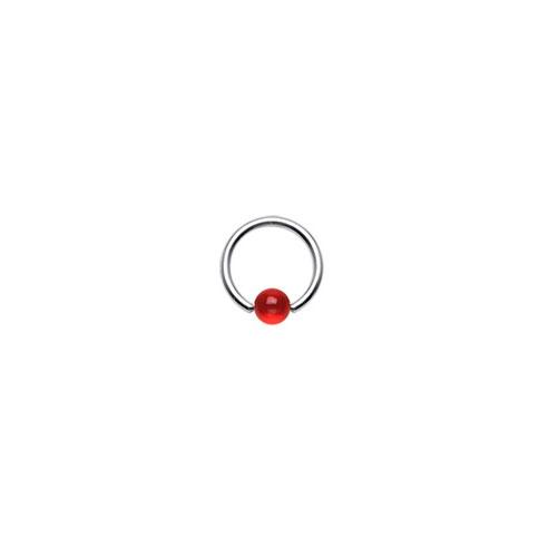 BCR m Akrylkule - Rød