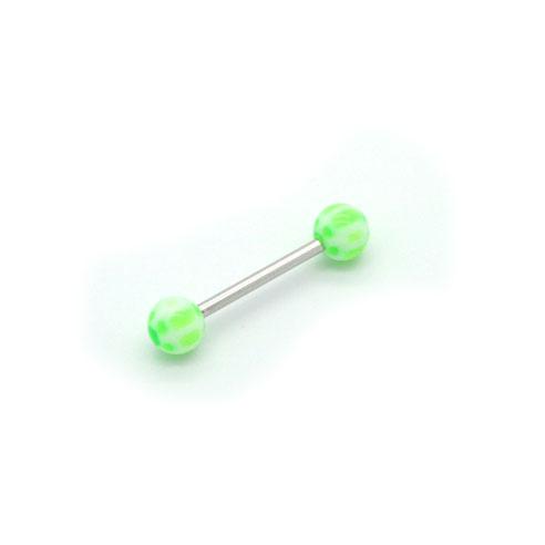 Grønn & Hvit Barbell