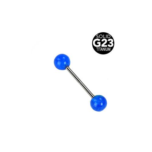 Titan Glow Barbell - Blå