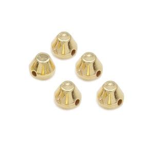 Gull Plastikk Flat Cones Liten 5 stk