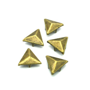Bronse Trekant Metall Nagler 5 stk