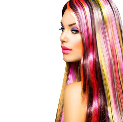 Red/Brown Hair Stripe