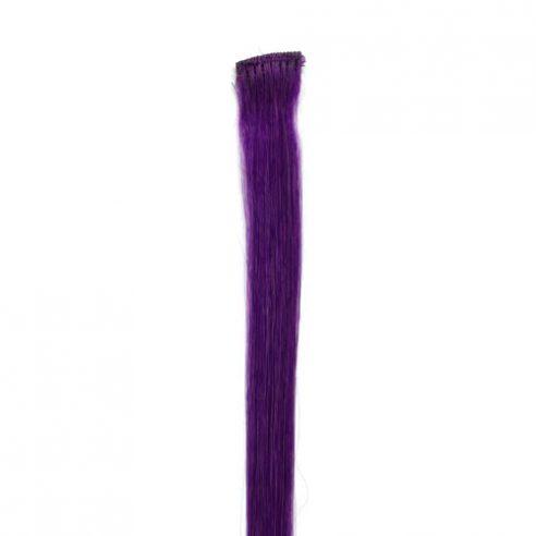 Matte Dark Purple Hair Stripe