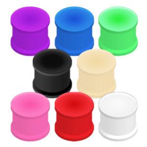 Silikonplugg i farge