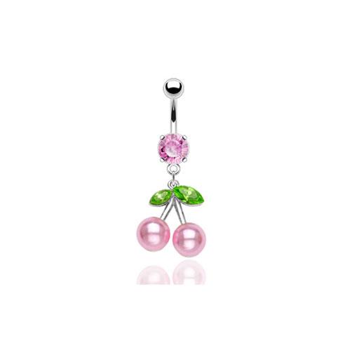 Perle Kirsebær Bananabell - Rosa