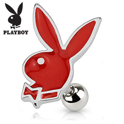 Playboy Tragus - Rød