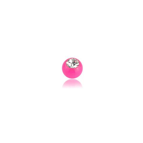 Solid Akrylkule - Rosa