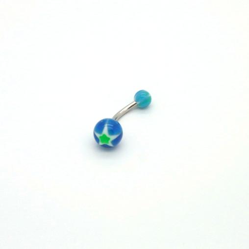 Stjerne Bananabell - Mørkeblå & Grønn
