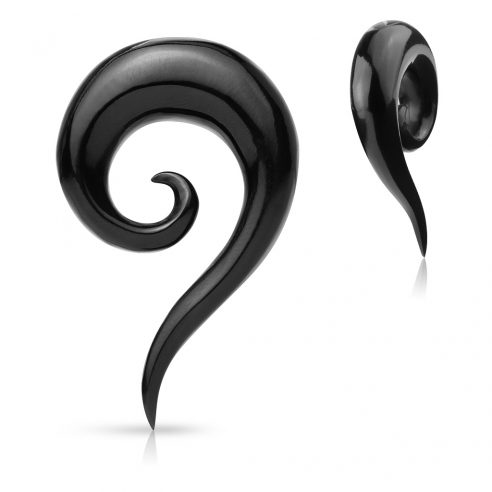 Organisk Bøffelhorn Spiral - med hale
