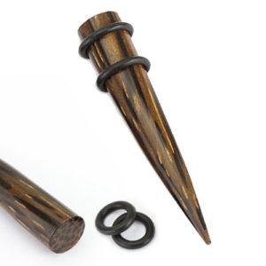 Palm Wood Taper med O-ringer
