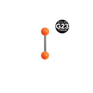 Titan Barbell m Oransje Kuler