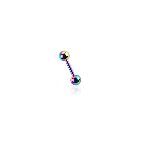Titaneloksert Tragus Barbell - Multi