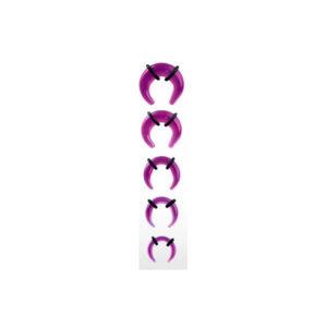 Akryl UV C-Taper - Lilla