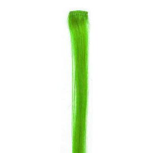 Bright Green Hair Stripe