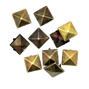 Nagler Pyramide Bronse Metall 10stk