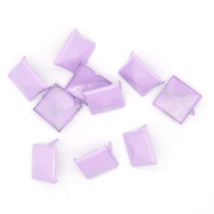 Nagler Pyramide Lavendel Metall 10stk