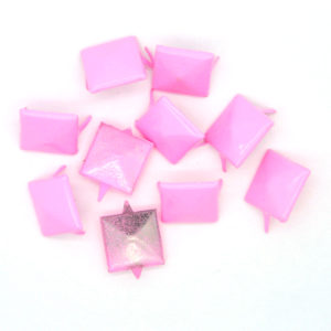 Nagler Pyramide Rosa Metall 10stk